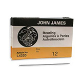 John James beading needles Rijgnaalden #12