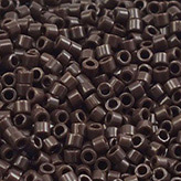 MIYUKI Delica Seed Beads DB734 11/0 Round - Opaque Chocolate Brown DB-734