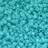 MIYUKI Delica Seed Beads DB2130 11/0 Round - Duracoat Dyed Opaque Underwater Blue DB-2130