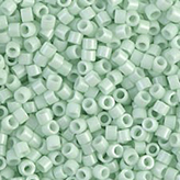 MIYUKI Delica Seed Beads DB1496 11/0 Round - Opaque Light Mint DB-1496