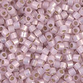 MIYUKI Delica Seed Beads DB1457 11/0 Round -Silverlined Pale Rose Opal DB-1457