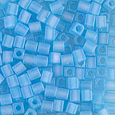 Miyuki Square Beads 4mm Matte Light Blue AB SB-148FR