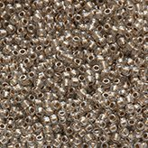 Toho Round Seed Beads #989 11/0 gold-lined crystal TR-11-989